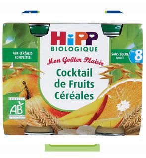 Mon Goûter Plaisir - Cocktail de Fruits Céréales