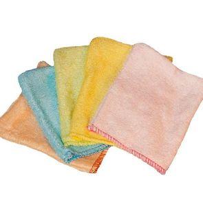 Petits gants de toilette d'apprentissage