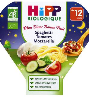 Plat Spaghettis de tomates et mozzarella