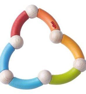 Hochet serpent multicolore de Haba