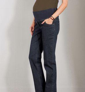 Jean évolutif spécial grossesse entrejambe 85 cm