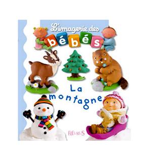 Livre La montagne, L'imagerie des bébés