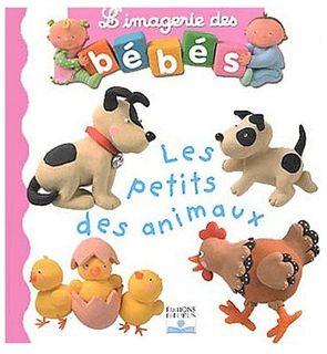 Livre les petits des animaux, l'imagerie des bébés