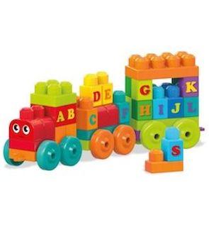 Le train des lettres Mega Bloks