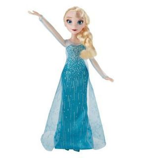 Hasbro Poupée La Reine des Neiges (Frozen) : Elsa poussière d'étoile