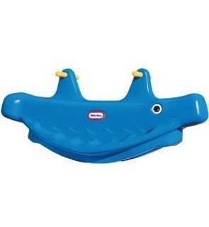 Balançoire baleine bleue 1, 2 ou 3 places
