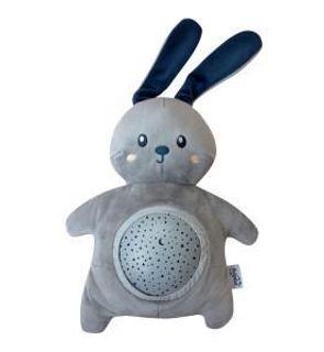 Veilleuse projecteur d'étoiles peluche Rabbit