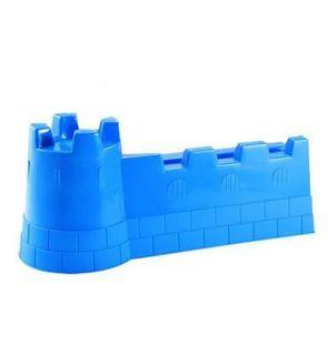 Ecoiffier Moule à sable Château fort 40 cm : Bleu