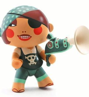 Figurine pirate Caraiba  (11 cm)