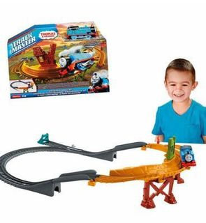 Fisher-Price Circuit de train : Danger sur le pont Thomas et ses amis