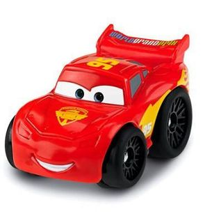 Fisher-Price Véhicule Wheelies Cars : Flash McQueen