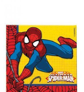 20 Serviettes en papier Ultimate Spiderman Power ?