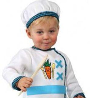Déguisement cuisinier bébé