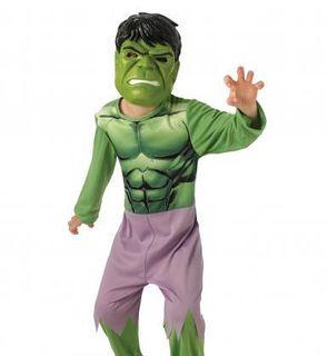 Déguisement classique Hulk + masque enfant - Avengers?