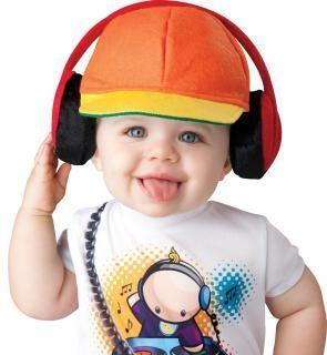 Déguisement mini DJ pour bébé - Premium
