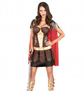 Déguisement de gladiatrice romaine