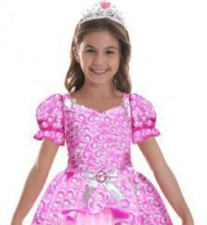 Déguisement Barbie? princesse scintillante fille