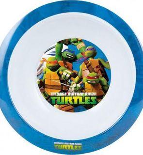 Assiette creuse mélamine Tortues Ninja?