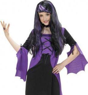 Déguisement vampire violette fille Halloween