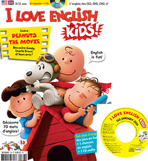 Magazine I love English For Kids