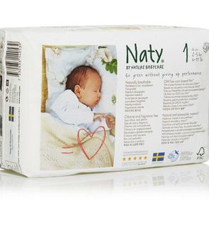 Couches éco newborn 2/5 KG Nature Babycare