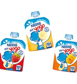Gourde Nestlé P'tit Yogo