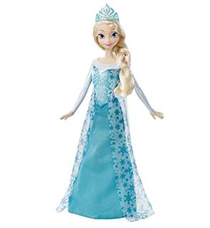 Poupée la Reine des neiges Elsa Disney Princesses