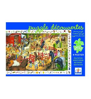 Puzzle Egypte découverte 200 pièces