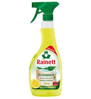 Spray nettoyant citron
