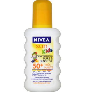 Spray solaire Nivea sun pure & sensitive Kids
