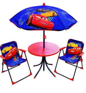 Table et chaises Cars
