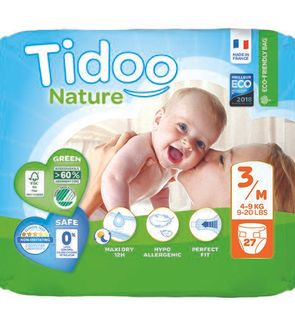 Couches Tidoo Nature Taille 3