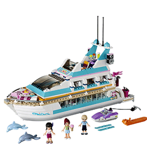 Le Yacht Lego Friends