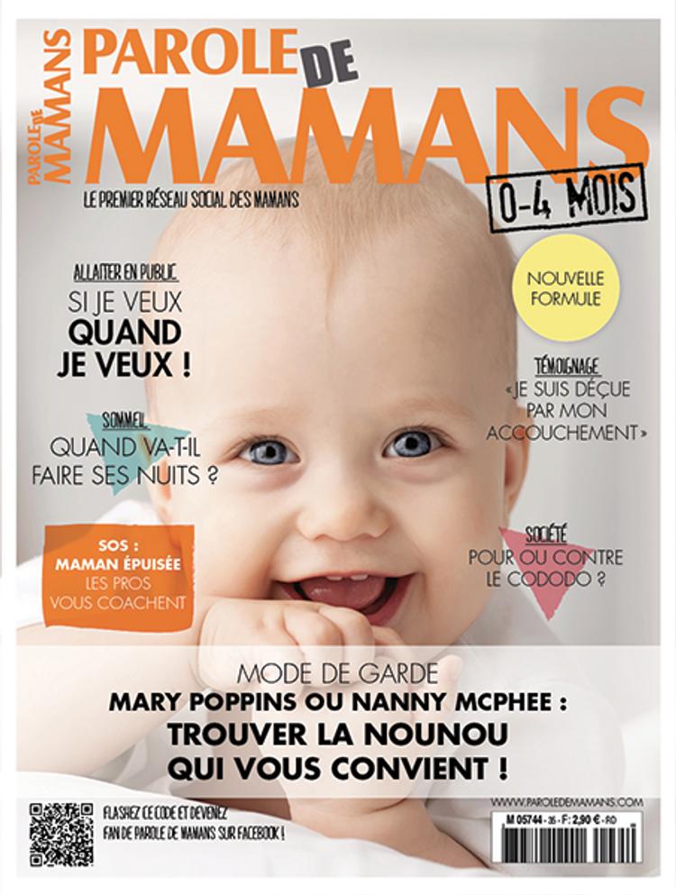 Parole de mamans : 0 - 4 mois
