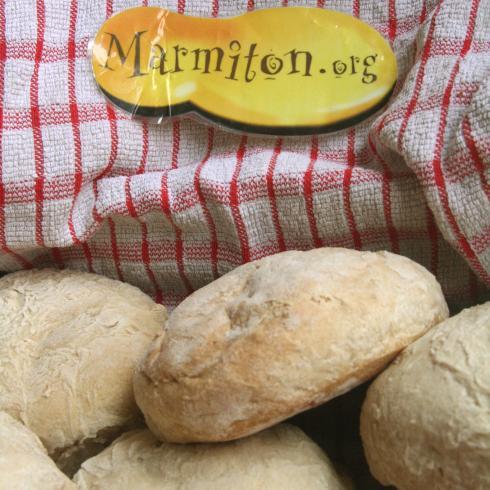 Petits pains à la farine de ciabatta