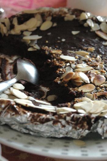 Truffe géante au chocolat