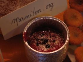 Coulis de fruits rouges au pastis avec noix de coco (Anne)
