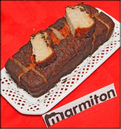 Rencontre Marmiton chez Jacotte à Besançon - cake banane chocolat