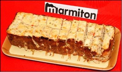 Rencontre Marmiton chez Jacotte à Besançon - flan de thon en macédoine de légumes