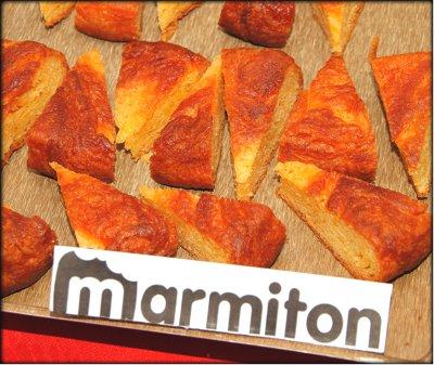 Rencontre Marmiton chez Jacotte à Besançon - kouign aman