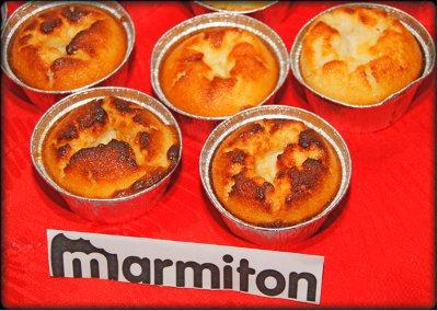 Rencontre Marmiton chez Jacotte à Besançon - ramequins de flans à la noix de coco