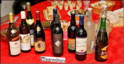 Rencontre Marmiton chez Jacotte à Besançon - boissons