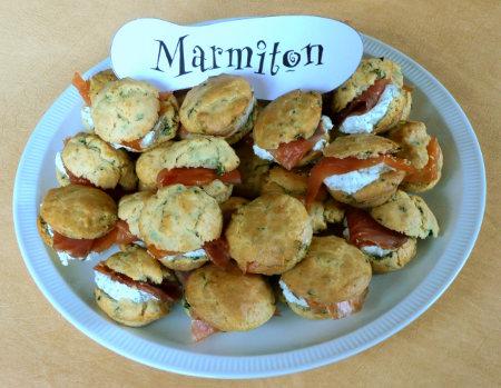 Rencontre Marmiton : bouchées à la ciboulette