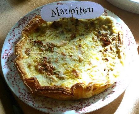 Rencontre Marmiton : tarte courgette reblochon carotte