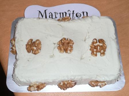 Rencontre Marmiton : terrine de camembert au bleu