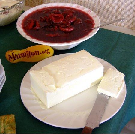 Rencontre Marmiton : compotée de pruneaux aux épices et sa glace vanille