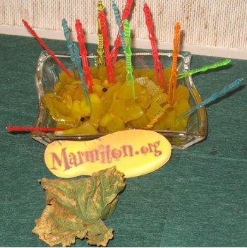 Rencontre Marmiton : Courgettes à l'aigre-doux