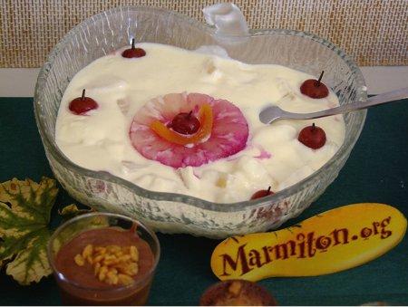 Rencontre Marmiton : crème saleil tahiti