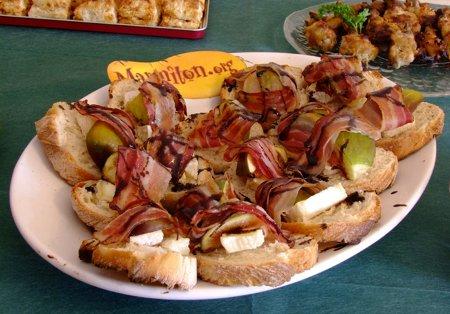 Rencontre Marmiton : crostini chèvre et figues