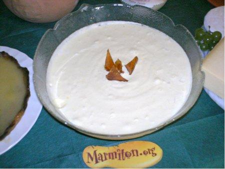 Rencontre Marmiton : mousse glacée à l'absinthe